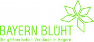 Bayern blüht Logo